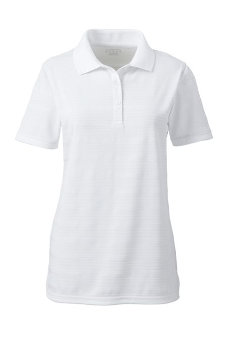Women's Short Sleeve Rapid Dry Drop Needle Polo Shirt