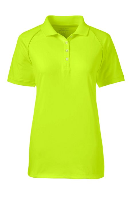 Women's Rapid Dri Reflective Raglan Polo Shirt