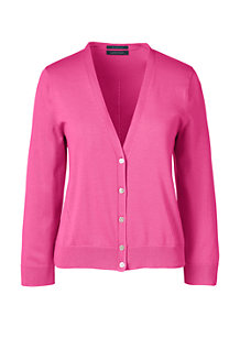 Women's  Fine Gauge Supima® Dress Cardigan