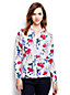 Women's Regular Fine Gauge Supima® Print Cardigan
