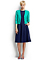 Women's Regular Ponte Jersey Panelled Dress