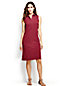 Women's Regular Sleeveless Piqué Polo Dress
