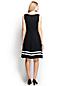 Women's Regular Engineered Print Jersey Crossover Dress