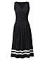 Women's Regular Engineered Print Jersey Crossover Dress