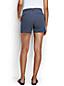 Gemusterte Chino-Shorts für Damen