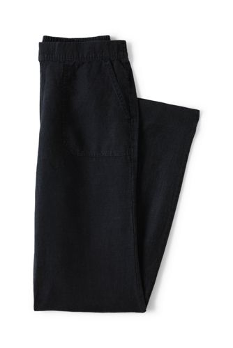 Women's Regular Linen Trousers