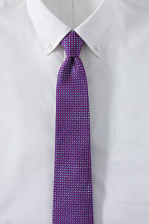 Men's Multi Diamond Silk Tie