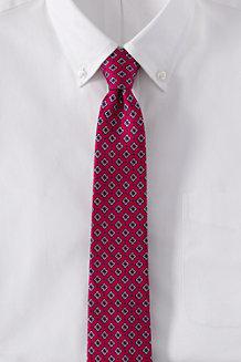 Men's Foulard Silk Tie