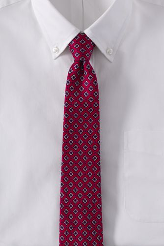 Men's Regular Foulard Silk Tie