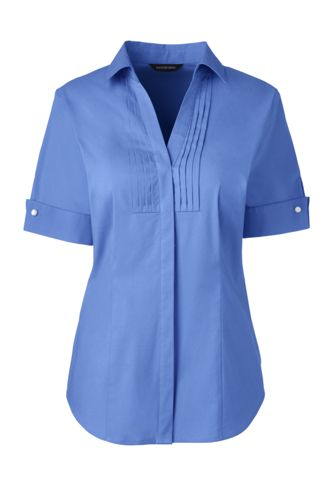 Dressy Tops Womens Stretch Shirts Blouses