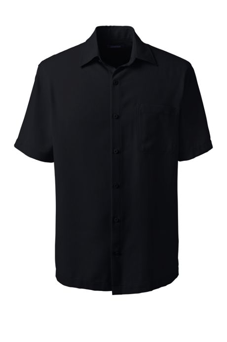 Men's Big Short Sleeve Camp Shirt