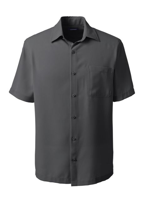 Men's Short Sleeve Camp Shirt