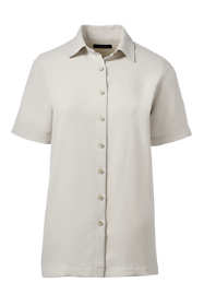 Women's Plus Short Sleeve Camp Shirt