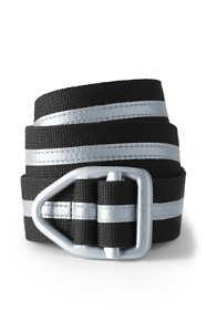 Unisex Cotton Web Reflective Belt
