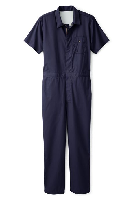 Unisex Short Sleeve Lightweight Coveralls