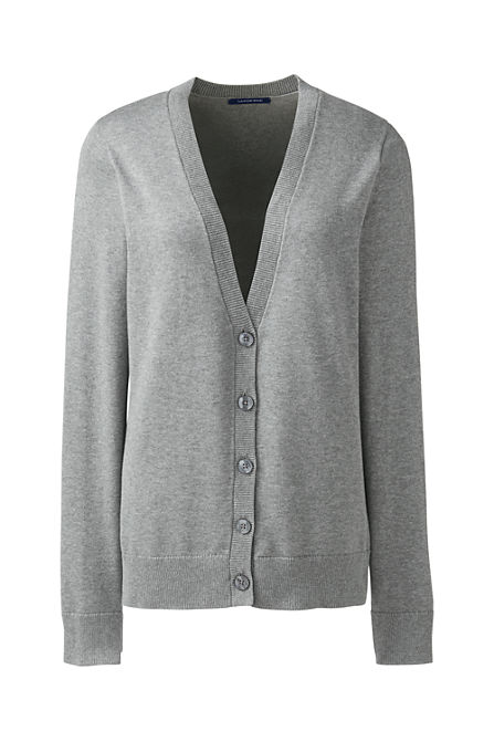 bd013faa35 Women s Basic Cotton V-neck Cardigan