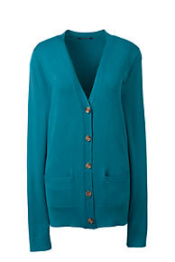 5862280ff7 Women s Plus Size Performance Long Sleeve V-neck Cardigan with Pockets