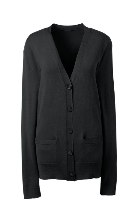 Women's Performance Long Sleeve V-neck Cardigan with Pockets