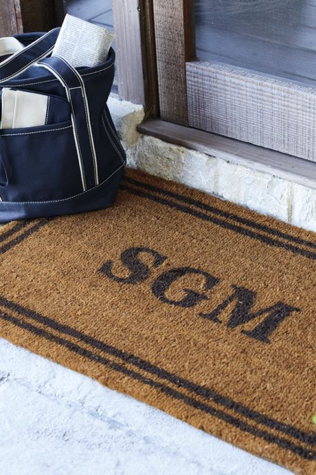 Coir Double Framed Rect Doormat 22