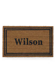 "Coir Double Framed Rect Doormat 18"" x 30"""