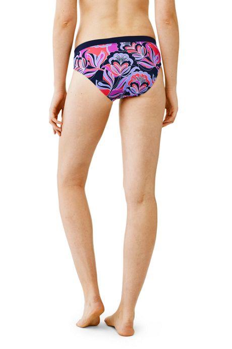 Women's AquaSport Mid Waist Bikini Bottom