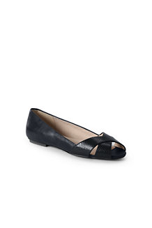 Women's Peep-toe Ballet Shoes
