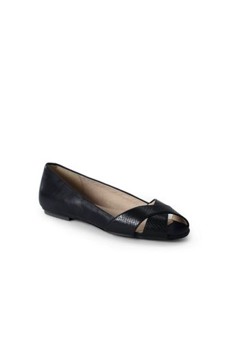 Women's Regular Peep-toe Ballet Pumps