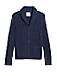 Men's Shawl Collar Cable Cotton Cardigan