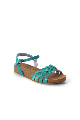 Girls' Plaited Sandals