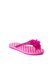Girls' Flower Flip Flops