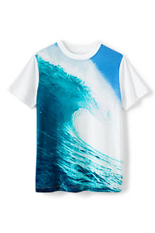Boys' Photo Print Graphic Tee