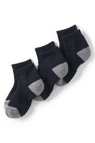 School Uniform Kids Athletic Low Cut Socks (3-pack)