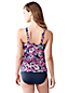 Women's Regular DD-Cup Paisley Scoop Neck Tankini Top