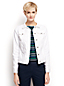 Women's Regular Stain Repellent White Denim Jacket