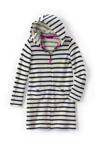 Little Girls' Jersey Beach Cover-Up