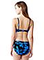 Le Haut de Bikini Coupe Coeur à Fleurs, Femme Stature Standard