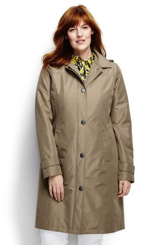 Women's Plus Coastal Rain Coat