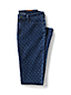 Gemusterte Slim Fit Denim-Jeans