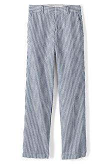 Boys' Tailored Seersucker Trousers