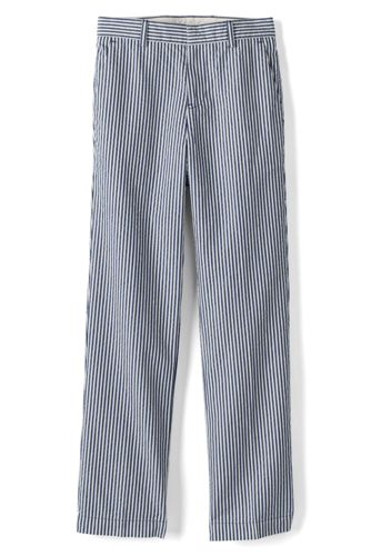 Toddler Boys' Tailored Seersucker Trousers