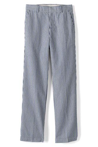 Le Pantalon Seersucker Rayé, Tout Petit Garçon