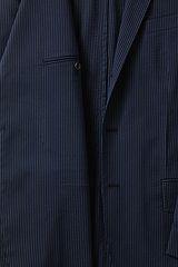 Stretch Seersucker Sport Coat 467960: Blue Navy