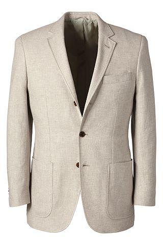 Linen Cotton Sport Coat 467962: Flax