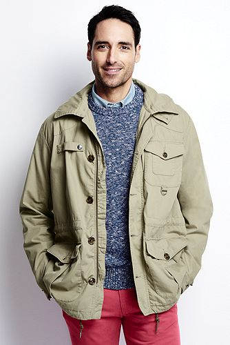 Classic Hunting Jacket 467966: Fennel Seed