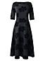 La Robe Ponté Col Bateau, Femme Taille Standard