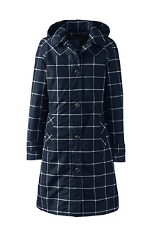 Women's Print Coastal Rain Coat
