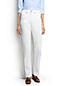 Women's High Rise Stain Repellent Straight Leg White Jeans