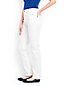 Women's High Rise Stain Repellent Straight Leg White Jeans