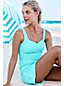 Women's Regular Textured Sweetheart Tankini Top