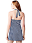 Women's Regular Beach Living Striped Swim Dresskini Top